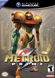 Gamecube Metroid Prime Cover