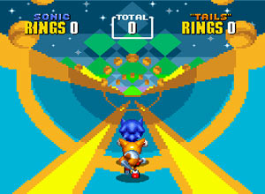 Sonic The Hedgehog 2 Genesis Screenshot