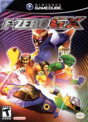Gamecube F-Zero GX Cover