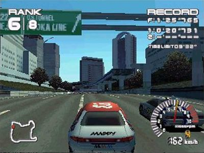 Ridge Racer Series Screenshot