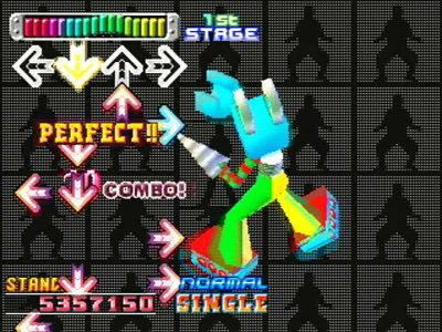 Dance Dance Revolution Screenshot