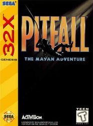 Pitfall the Mayan Adventure 32X Cover