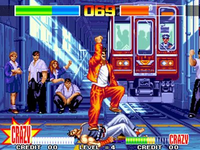 Aggressors of Dark Kombat Screenshot