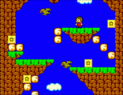 Alex Kidd in a Miracle World Screenshot