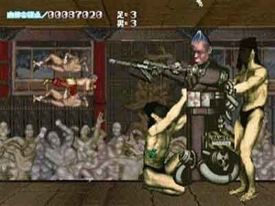 Cho Aniki Saturn Screenshot