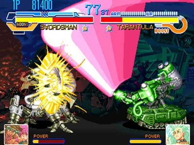 Cyberbots: Fullmetal Madness Screenshot