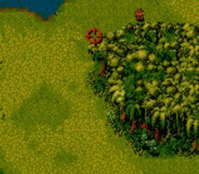 Cannon Fodder GBC Screenshot