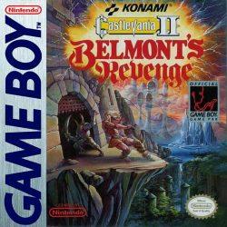 Castlevania II Belmont's Revenge Box