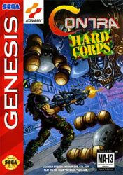Contra Hard Corps Cover