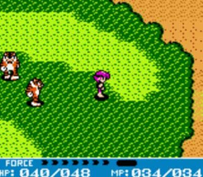 Crystalis Gameboy Screenshot