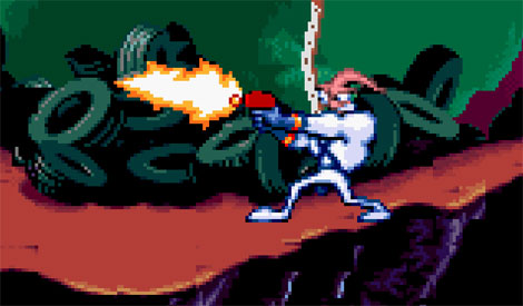 Earthworm Jim (SNES), 1994
