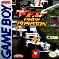 F1 Pole Position Gameboy Box