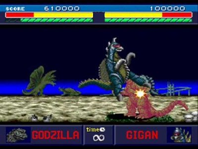 Godzilla: Battle Legends Screenshot