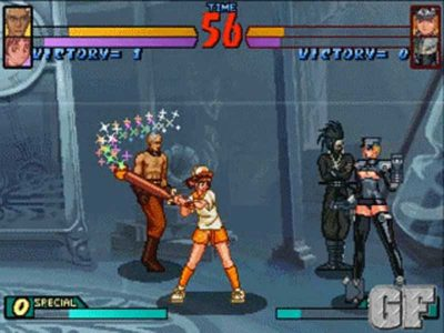 Groove On Fight Screenshot