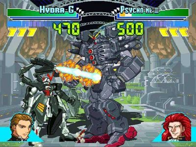 Gundam Battle Assault Screenshot