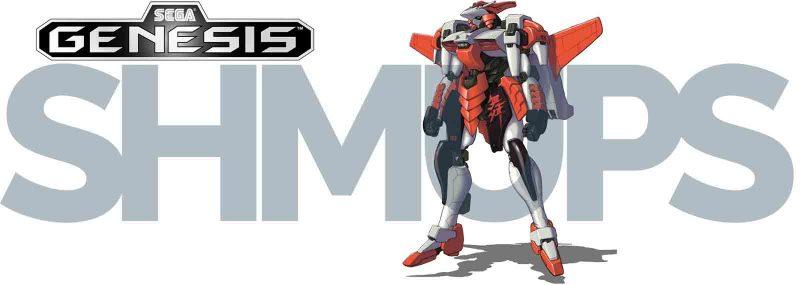 Sega Genesis Megadrive 2D Shooters