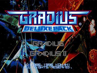 Gradius Deluxe Pack Screenshot