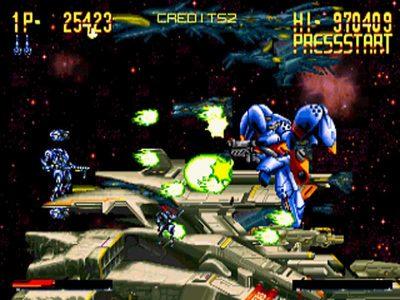 Hyper Duel Screenshot