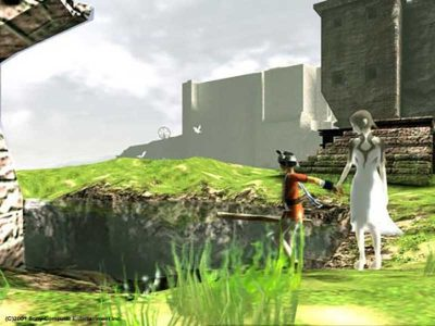 Ico PS2 Screenshot