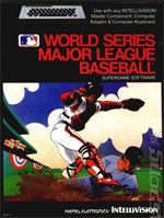 Intellivision World Series Baseball Box