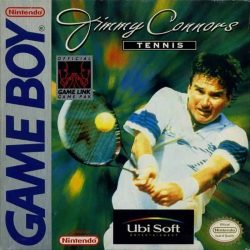 Jimmy Connors Tennis Gameboy Box