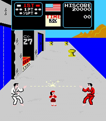 Karate Champ Screenshot
