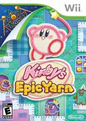 Wii Kirby's Epic Yarn Cover