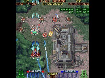 Layer Section / Galactic Attack Screenshot