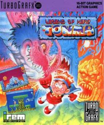 Legend of Hero Tonma TG16 Box