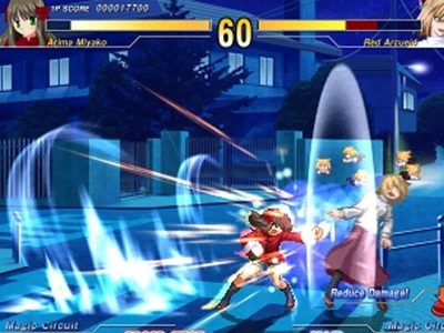 Melty Blood: Act Cadenza Screenshot