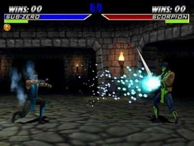 Mortal Kombat 4 Screenshot