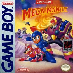 Mega Man IV Gameboy Box
