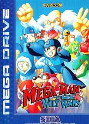 Wily Wars Megadrive Cover