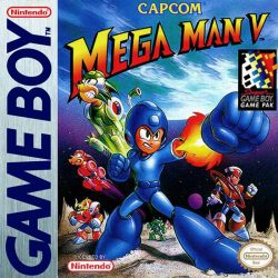 Mega Man V Gameboy Box