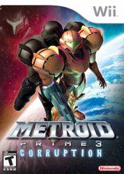 Wii Metroid Prime 3 Box