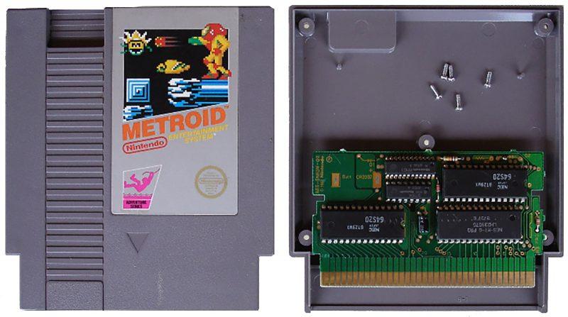 NES Cartridge Opened
