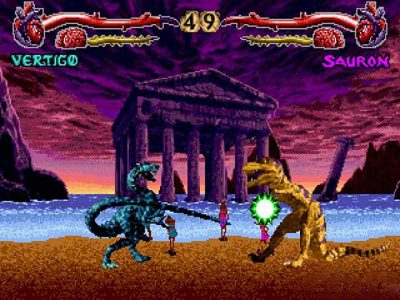 Primal Rage Screenshot