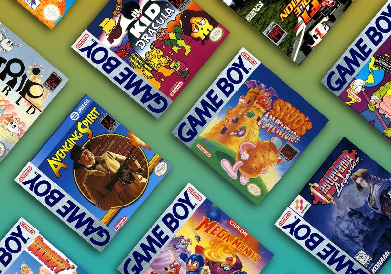 Sampling of the Rarest and Most Valuable Gameboy Games