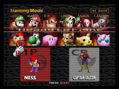 Super Smash Bros. N64 Screenshot