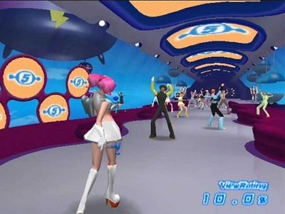 Space Channel 5 Screenshot