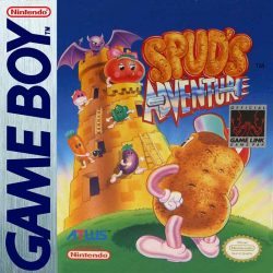 Spud's Adventure Gameboy Box