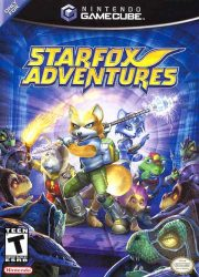 Gamecube Star Fox Adventures Cover