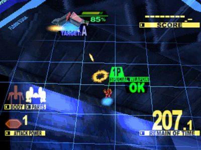 Starfighter Sanvein PS1 Screenshot