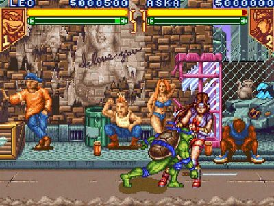 Teenage Mutant Ninja Turtles: Tournament Fighters Screenshot