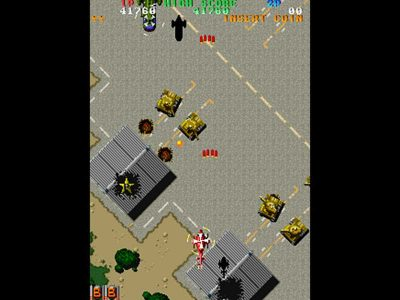 Toaplan Shooting Battle Screenshot