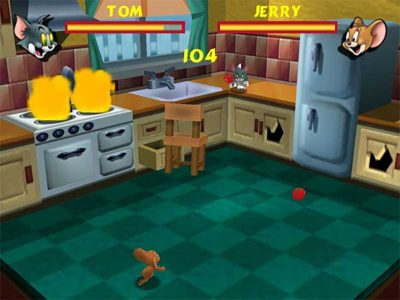 Tom And Jerry: Fists Of Furry N64 Screenshot