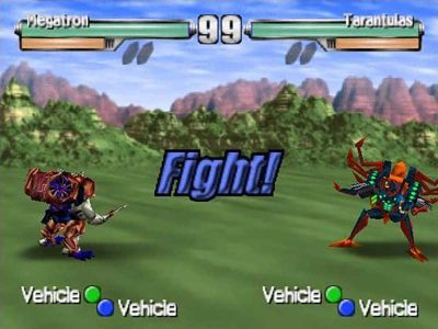 Transformers: Beast Wars Transmetals Screenshot