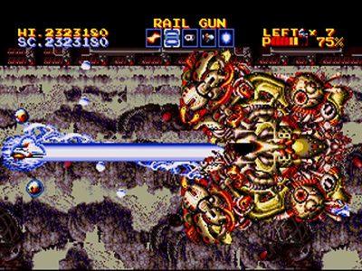 Thunder Force Gold Pack 2 Screenshot