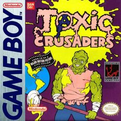 Toxic Crusaders Gameboy Box