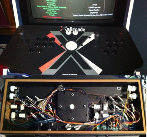 I also chose the X-Arcade ... & Summer of the DIY Arcade pt2: The MAME Cabinet u0026 X-Arcade Tankstick ...